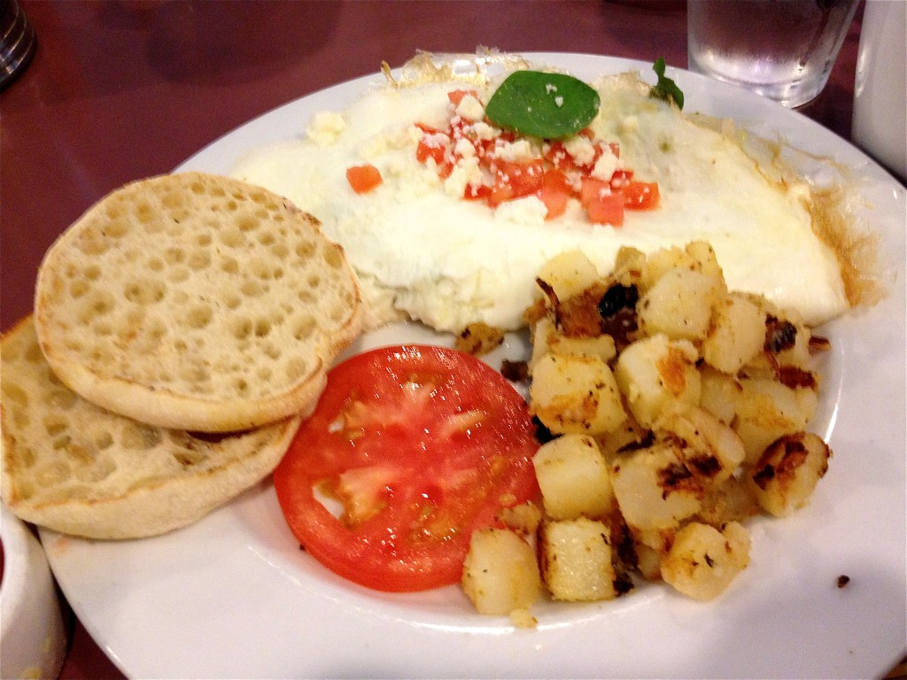 Healthy Turkey Omelet at First Watch