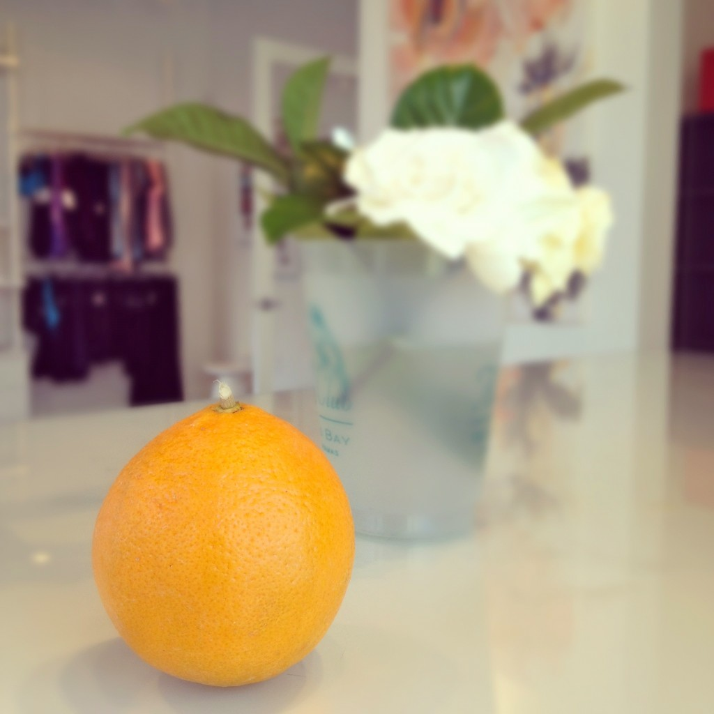 Barre 54 orange