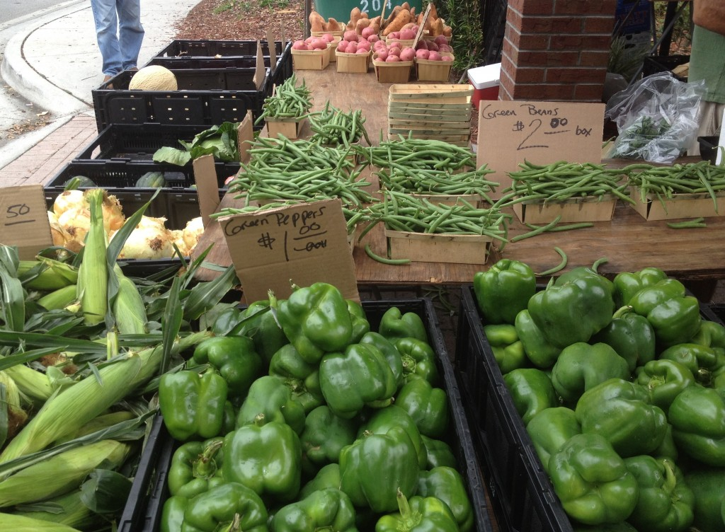 Winter Park Farmers Market veggies