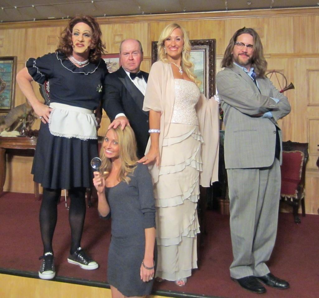 Sleuths Dinner Show Cast
