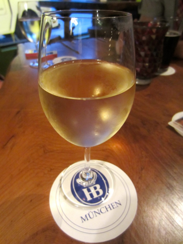 HB Coaster and wine at Imperial