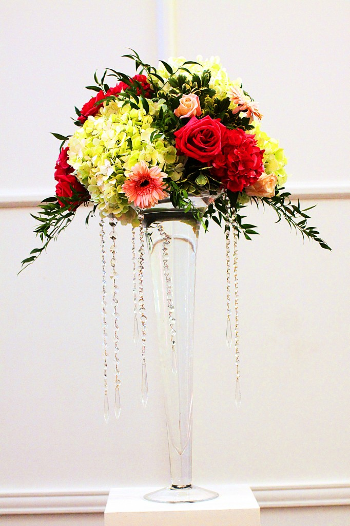 Flower Arrangement at Ceremony
