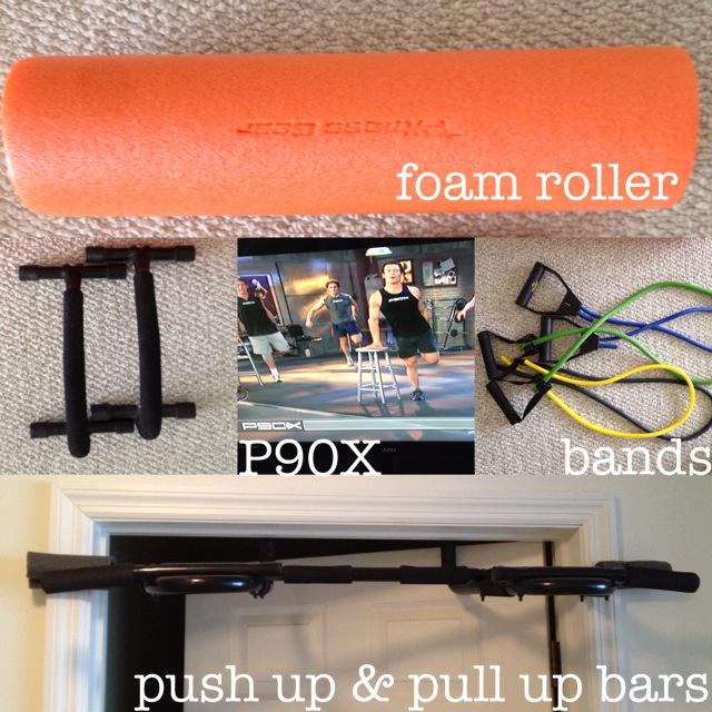 P90X equipment