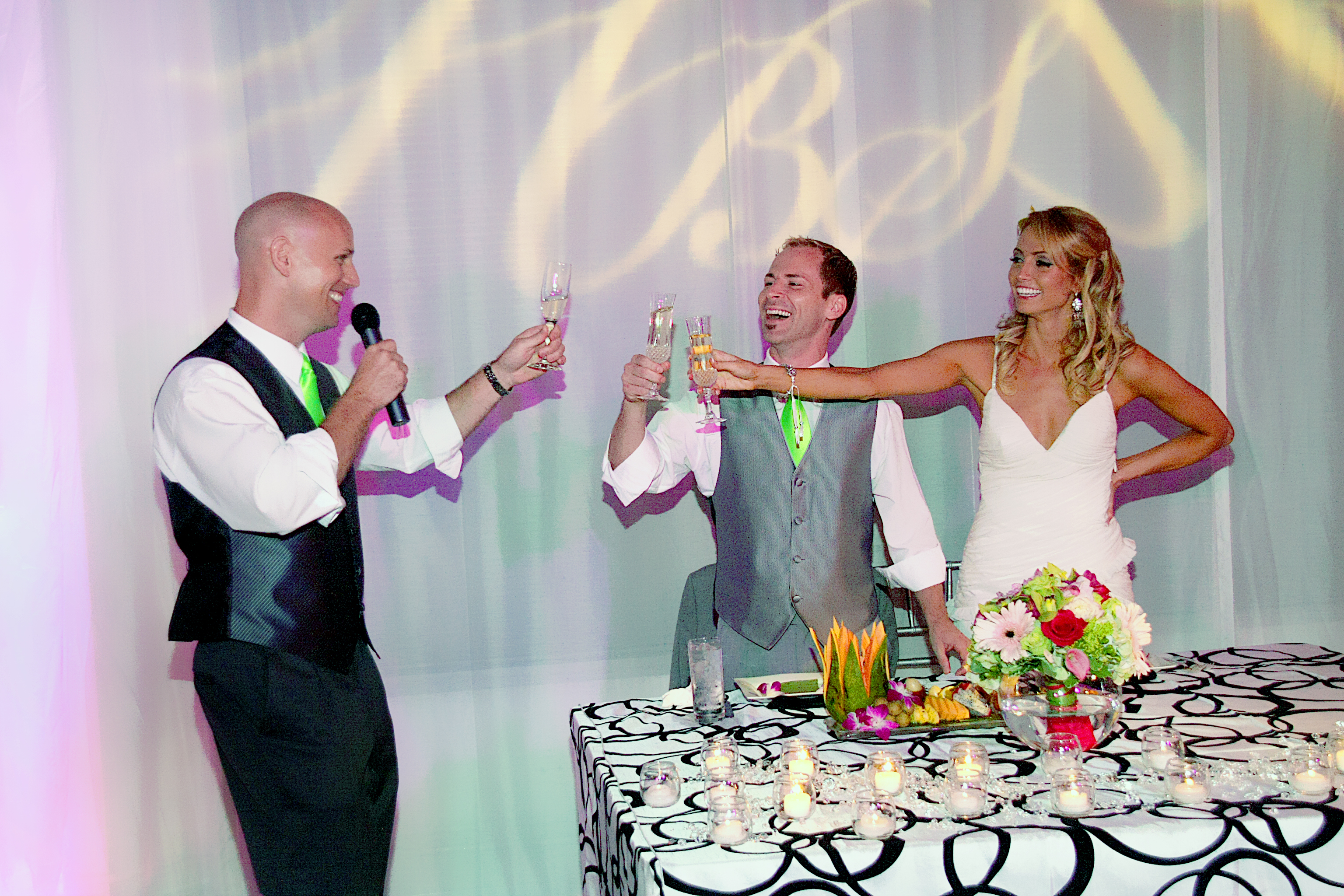 best man toast at wedding reception