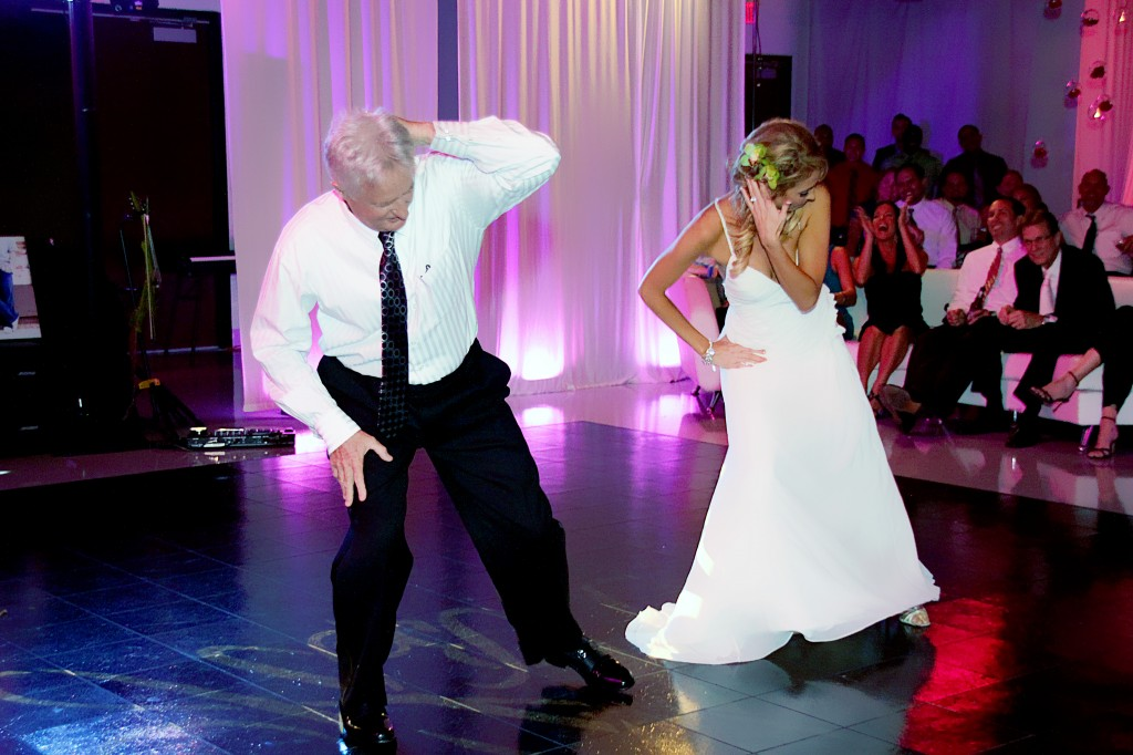 Surprise father daughter dance