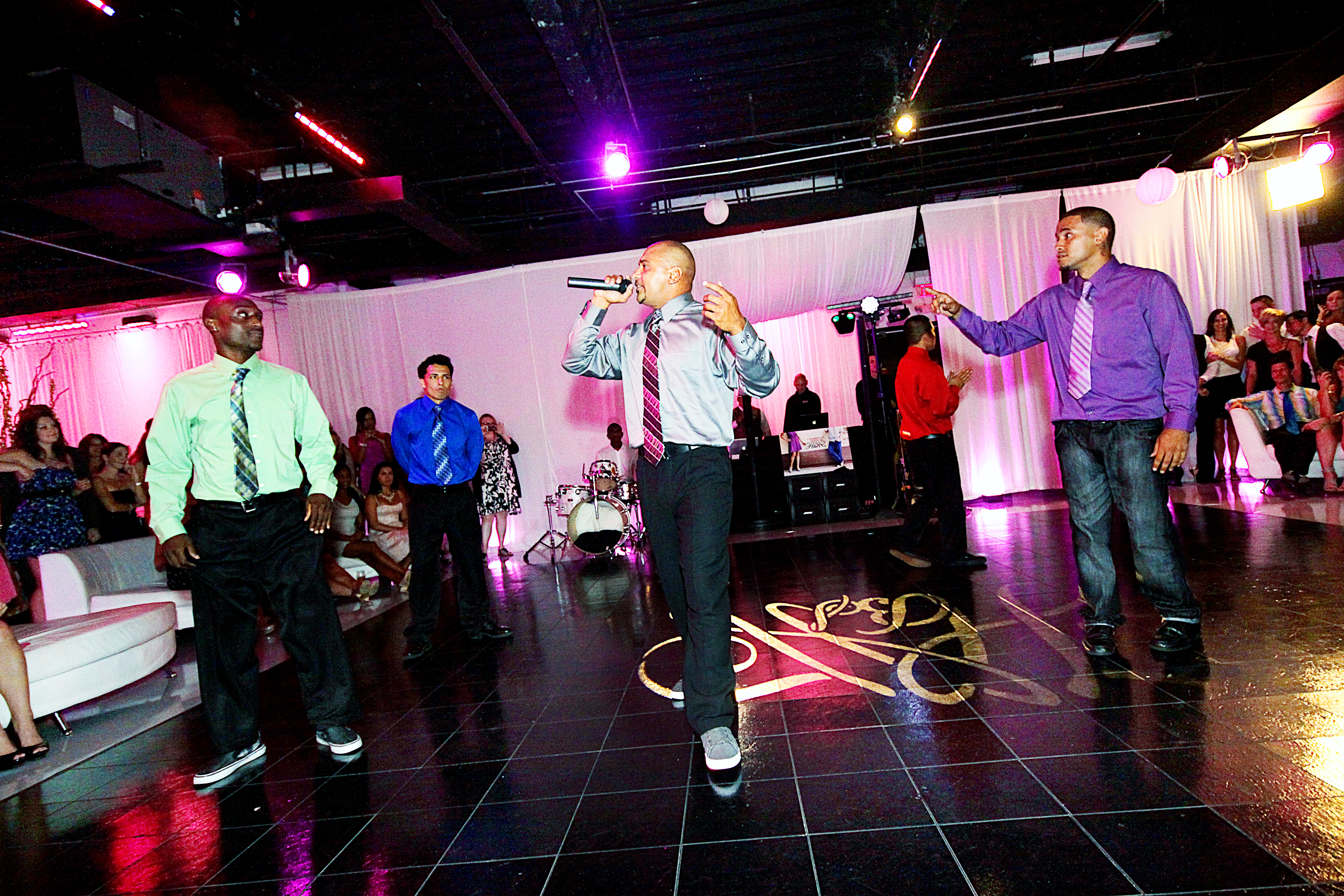 Street Breakz perform at wedding reception