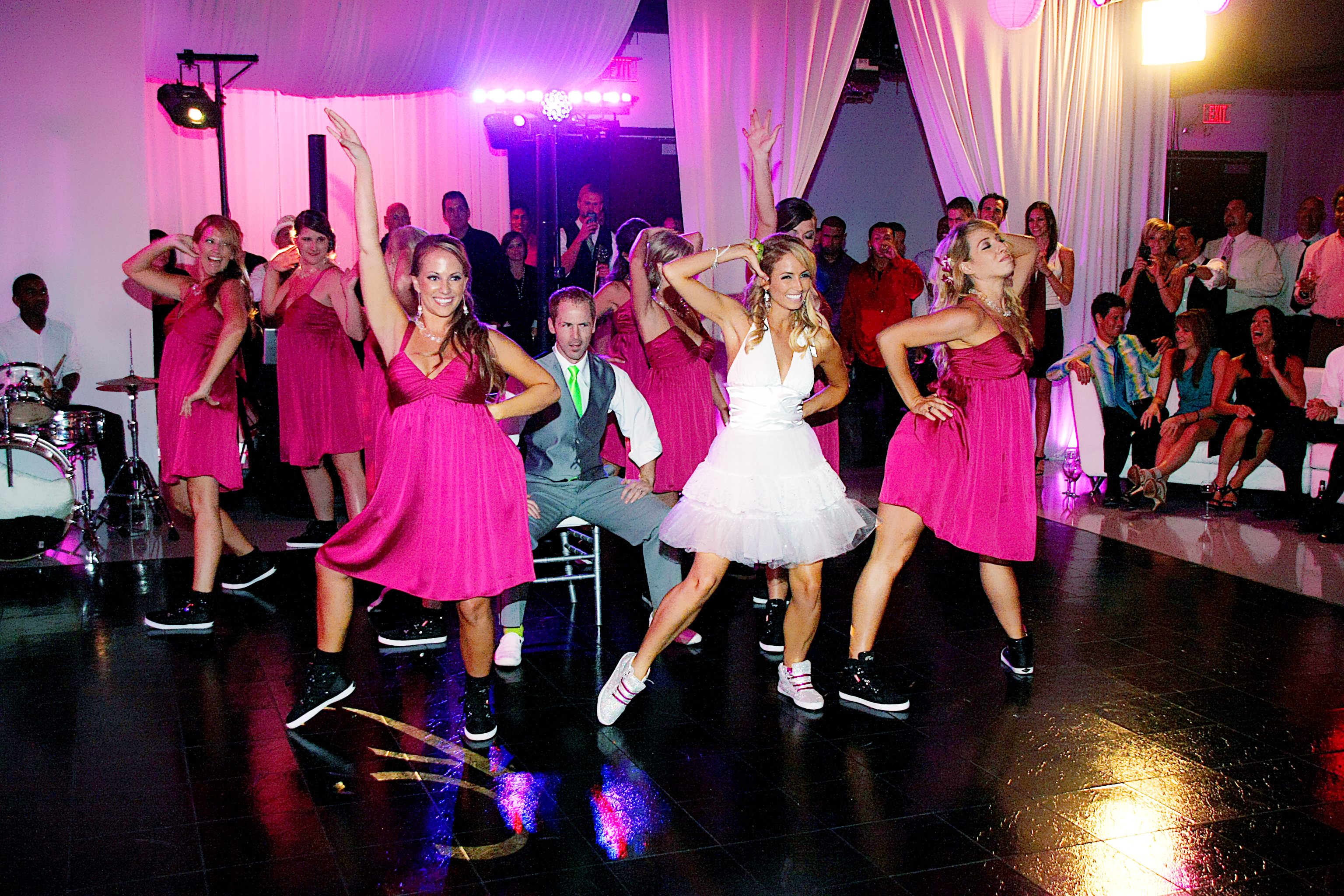 Bridal Party Surprise dance