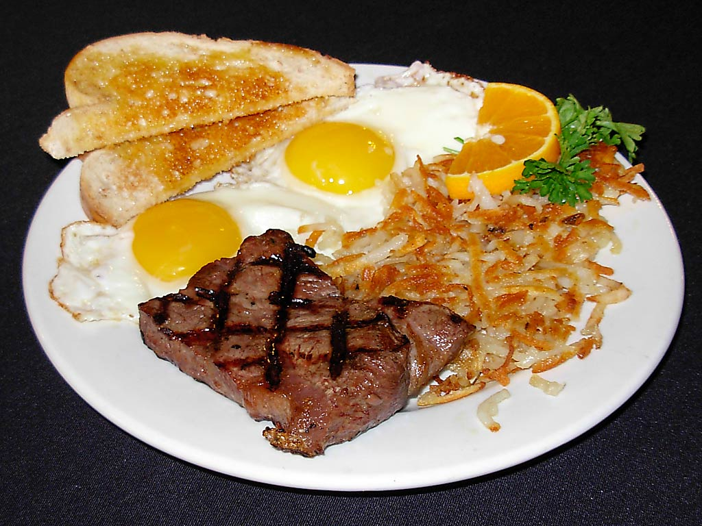 Steak-And-Eggs Last Meal