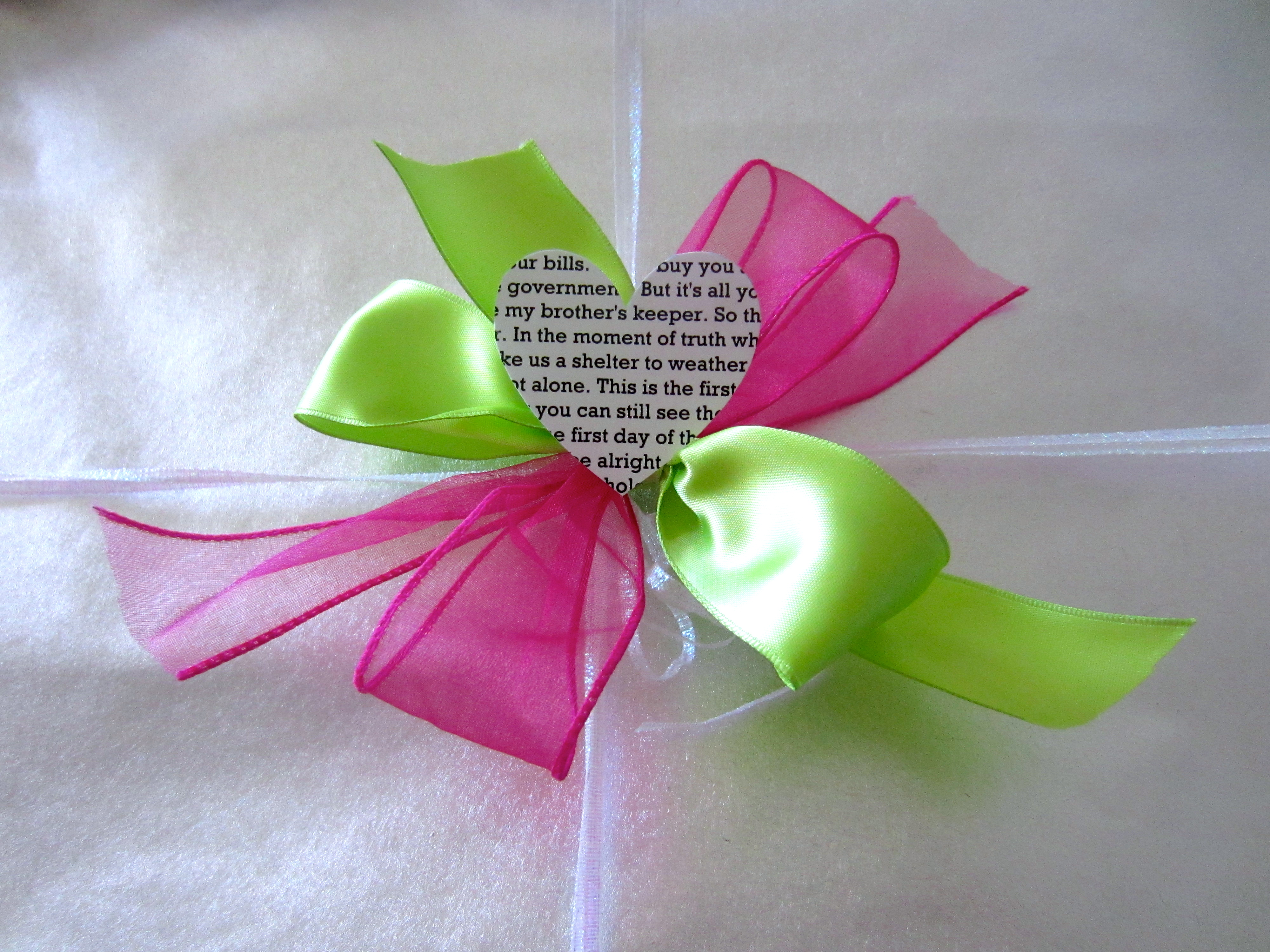 Year Anniversary Gift – Paper