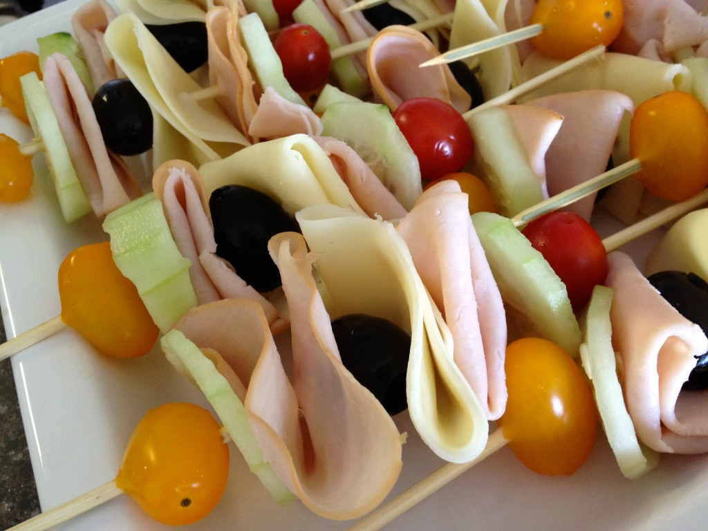 heatlhy sandwich skewers