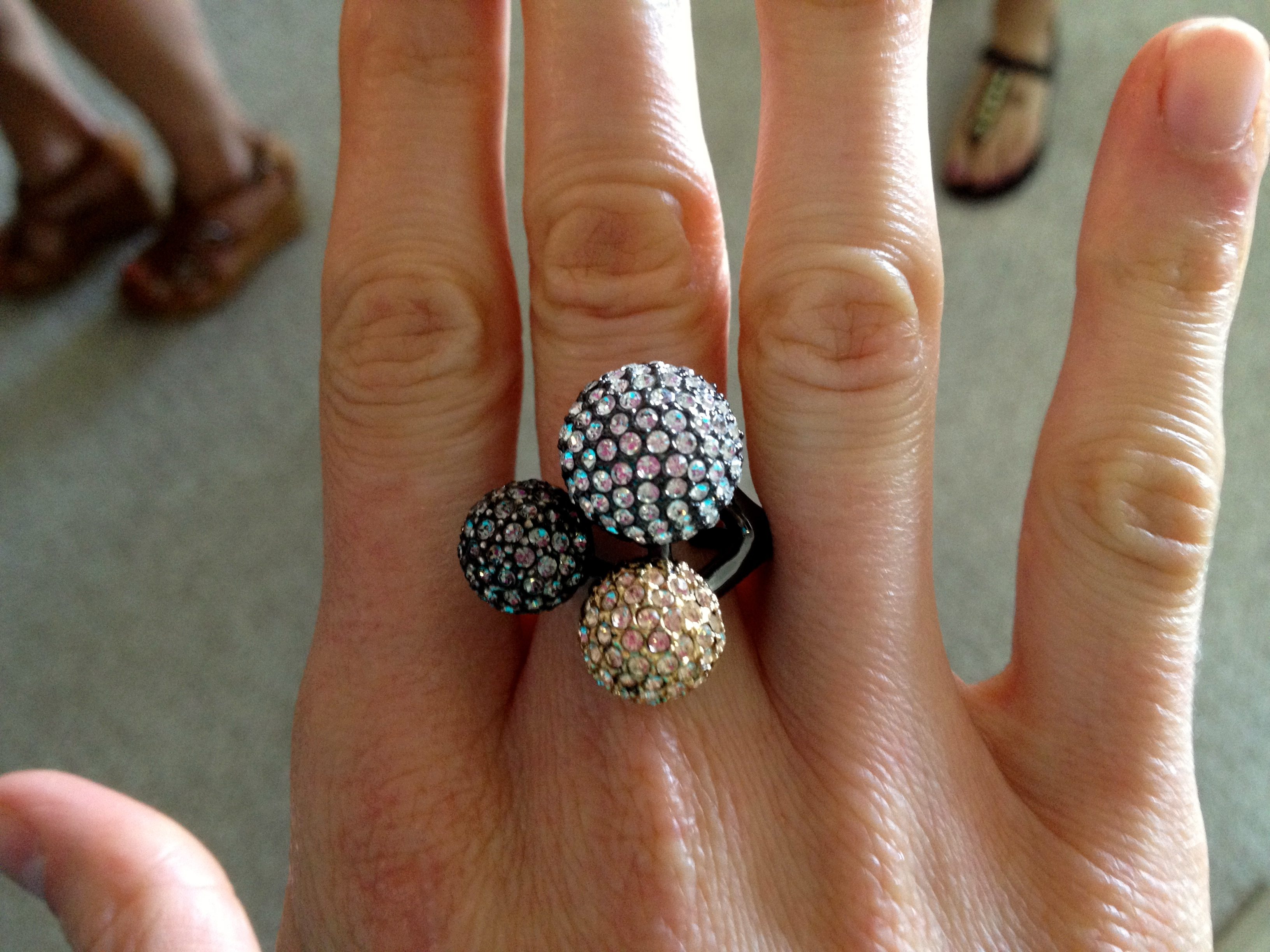 stella and dot ring