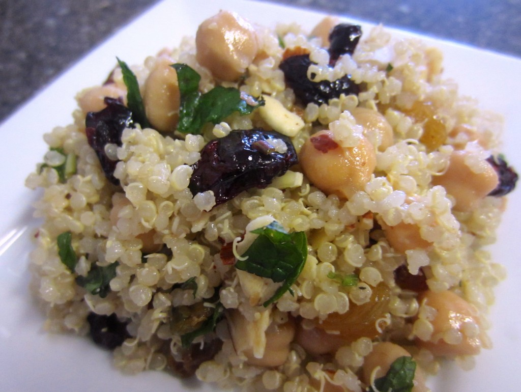 Summertime Quinoa Salads Recipe — Dishmaps