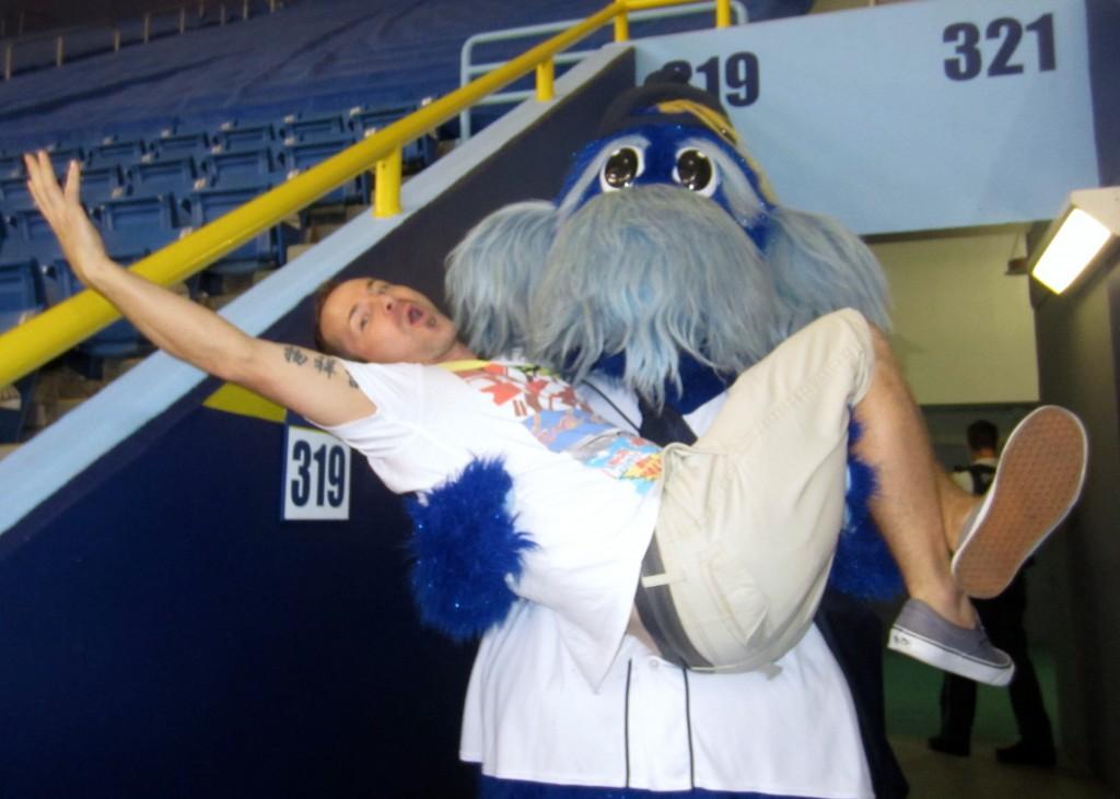Tampa Bay Rays Mascot