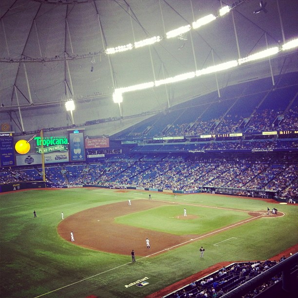 Tampa Bay Rays Tropicana Field 2