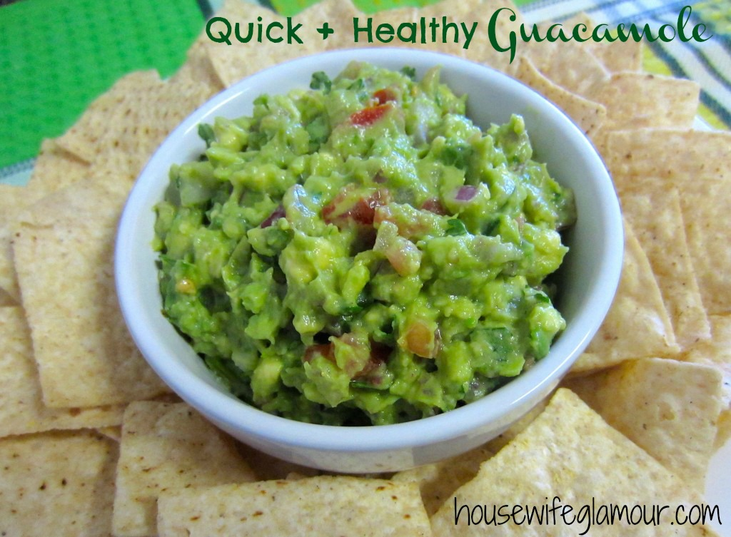 Quick + Healthy Guacamole