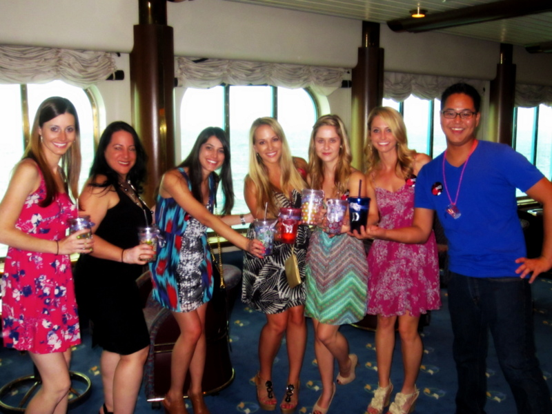 Bachelorette Cruise Bridal Party