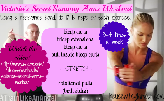Train Like an Angel Arms Workout