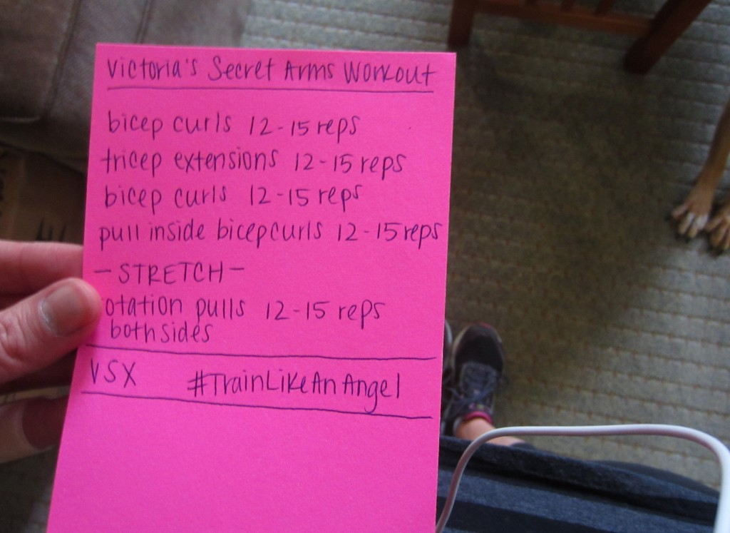 Victoria's Secret Arms Workout