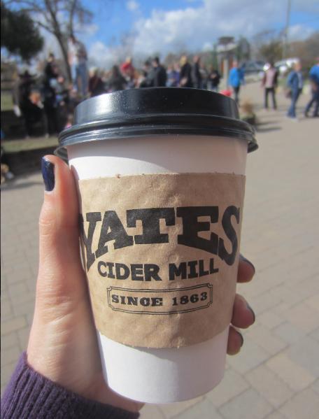 Yates Cider Mill fresh cider