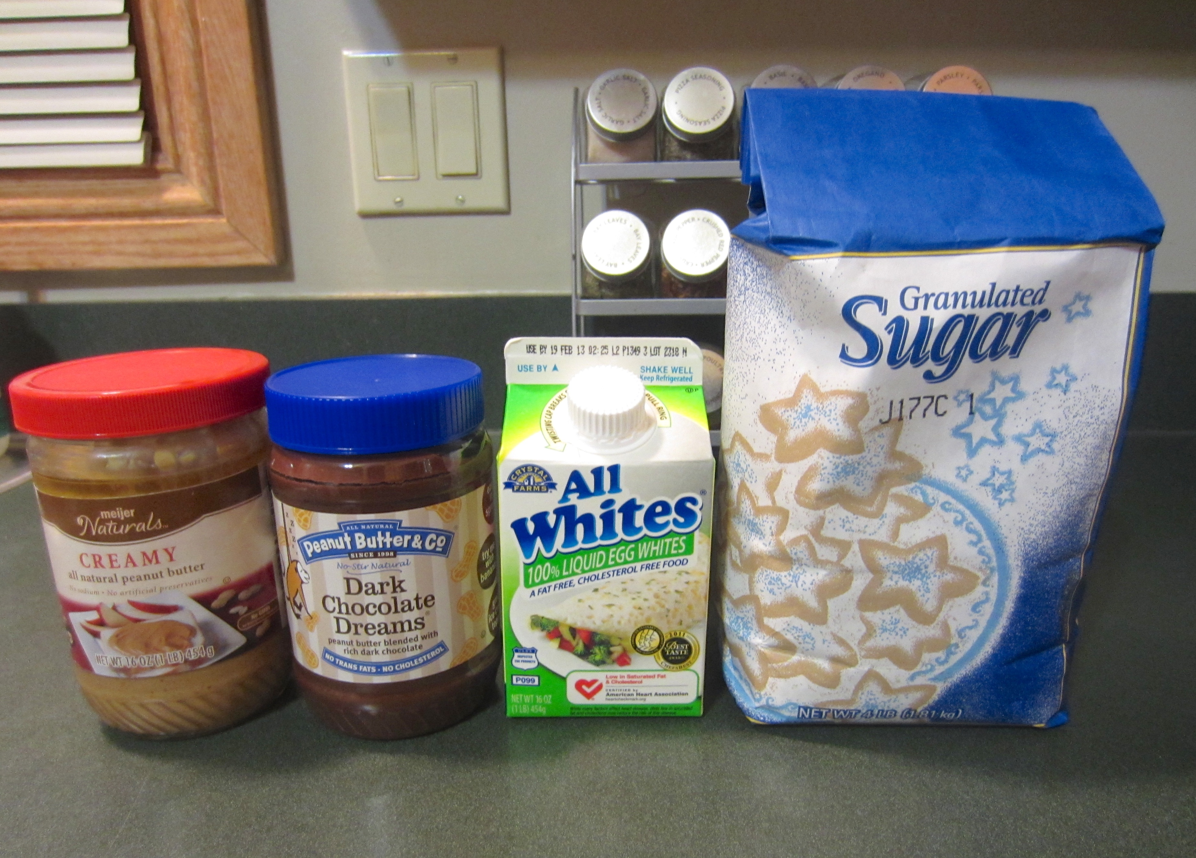 Chocolate Peanut Butter Cookie ingredients