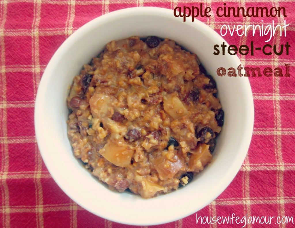 apple cinnamon overnight stee
