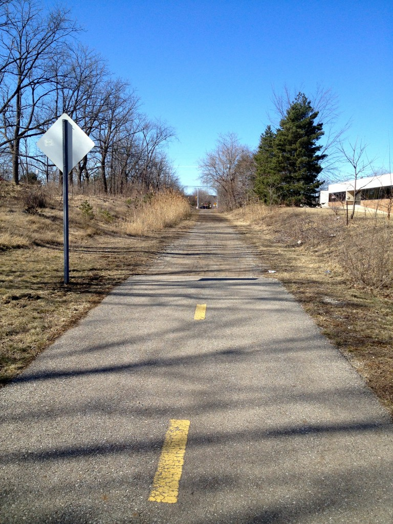 neighborhood running trail