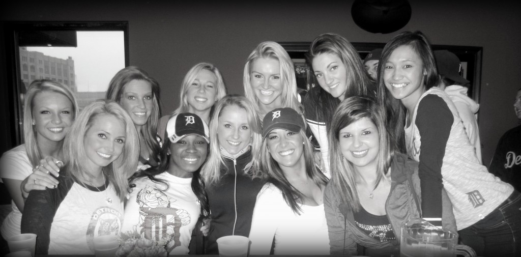 Detroit Tigers Game Girls
