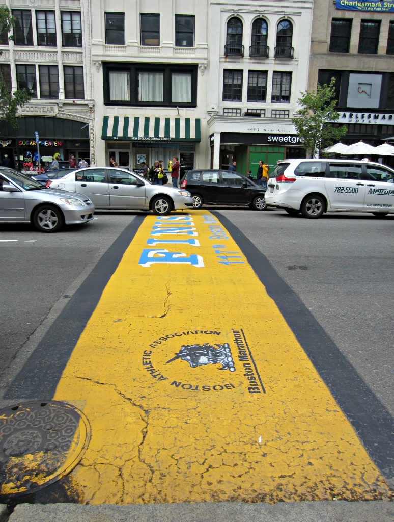 2013 Boston Marathon Finish Line