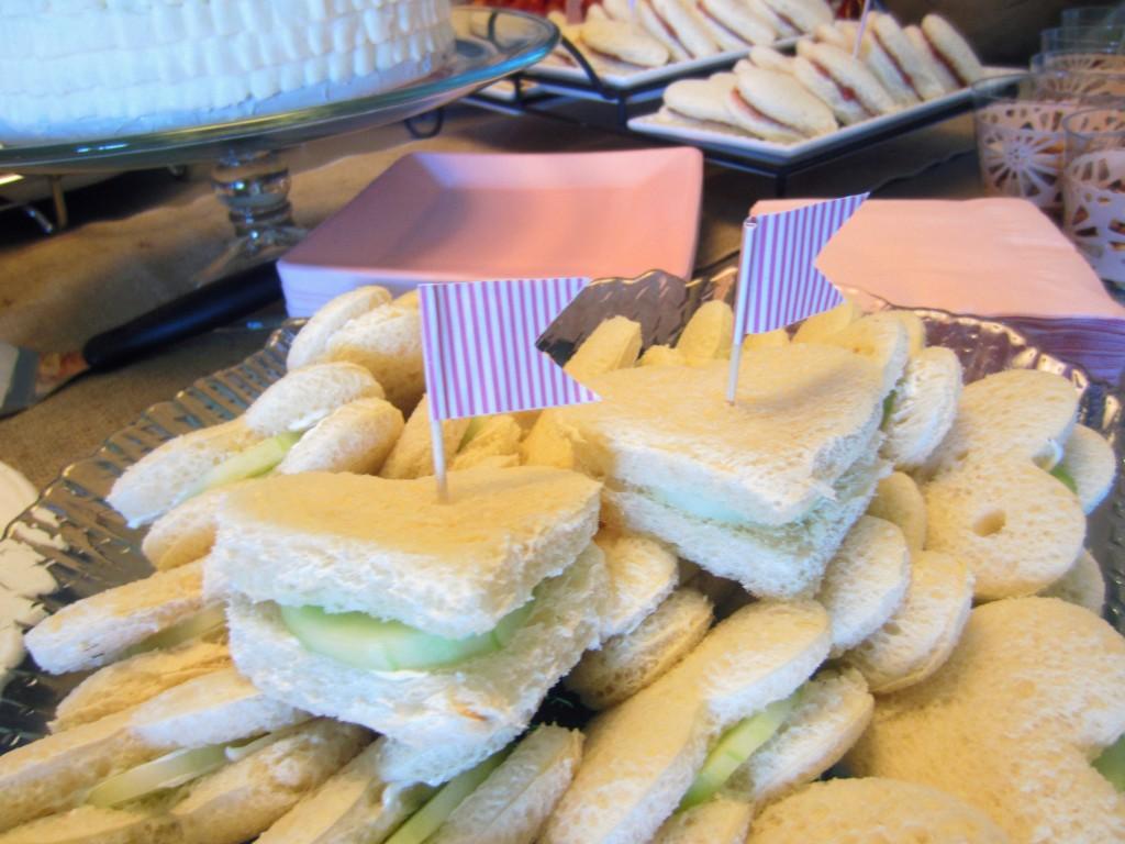 ped cucumber sandwiches