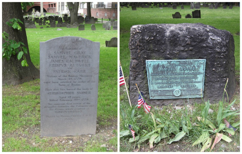 Famous Tombstones Boston