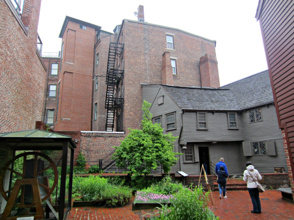 Paul Revere's House outside