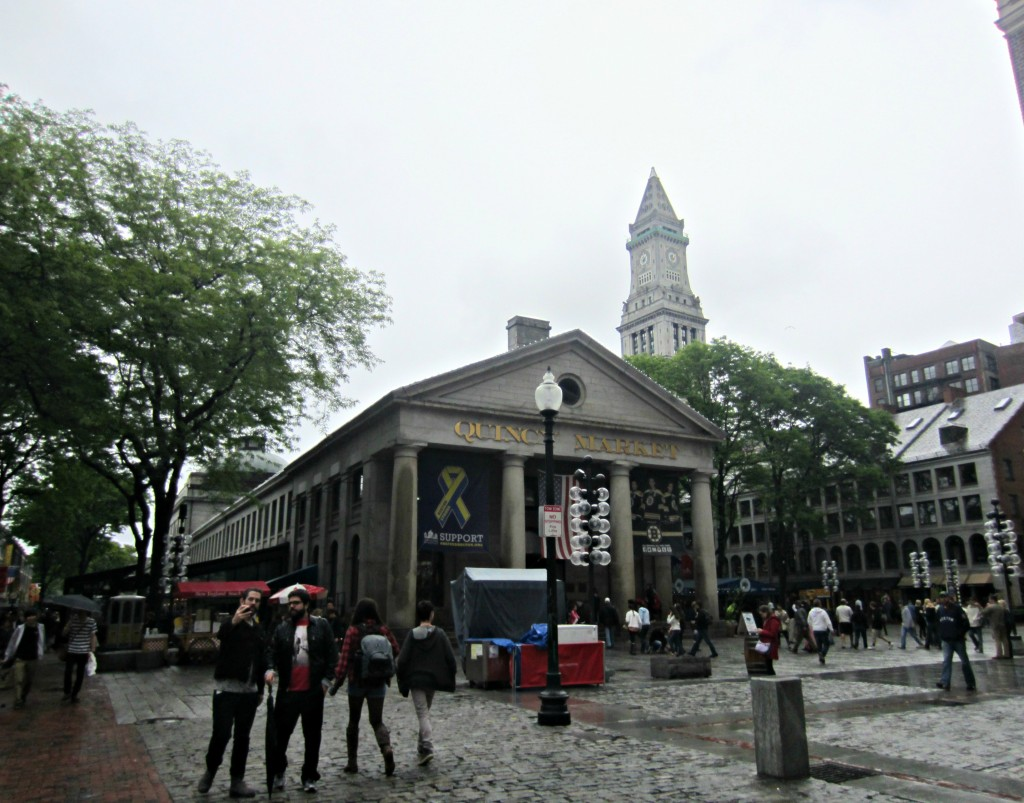 Quincy Market Boston
