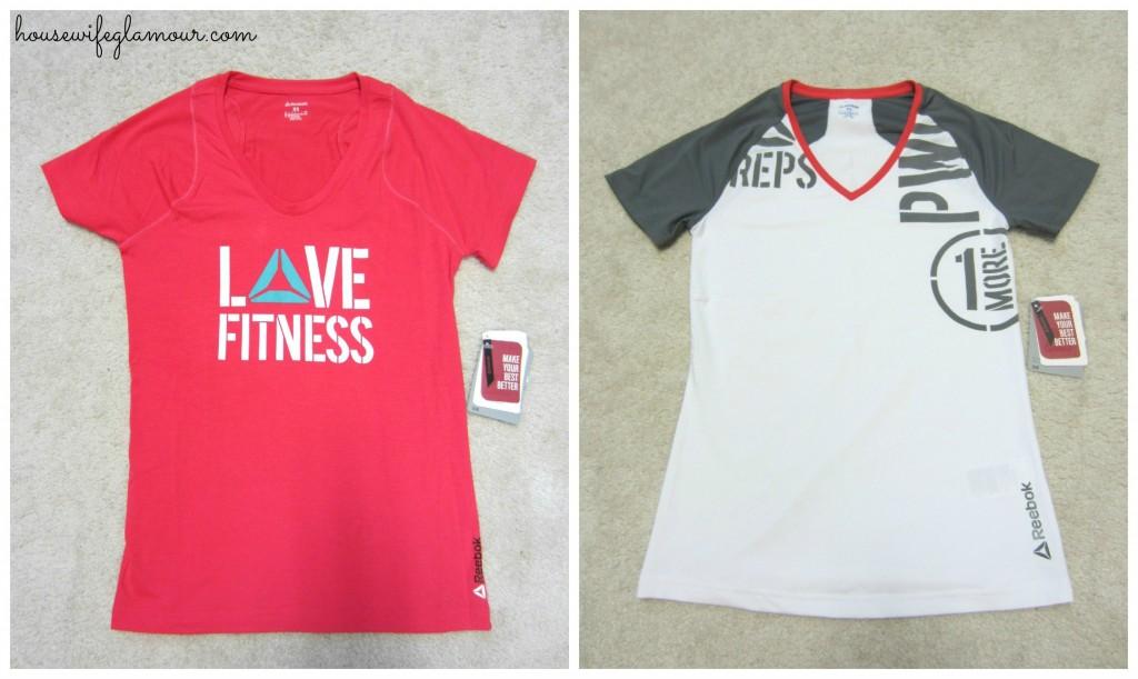 Reebok PWR t-shirts