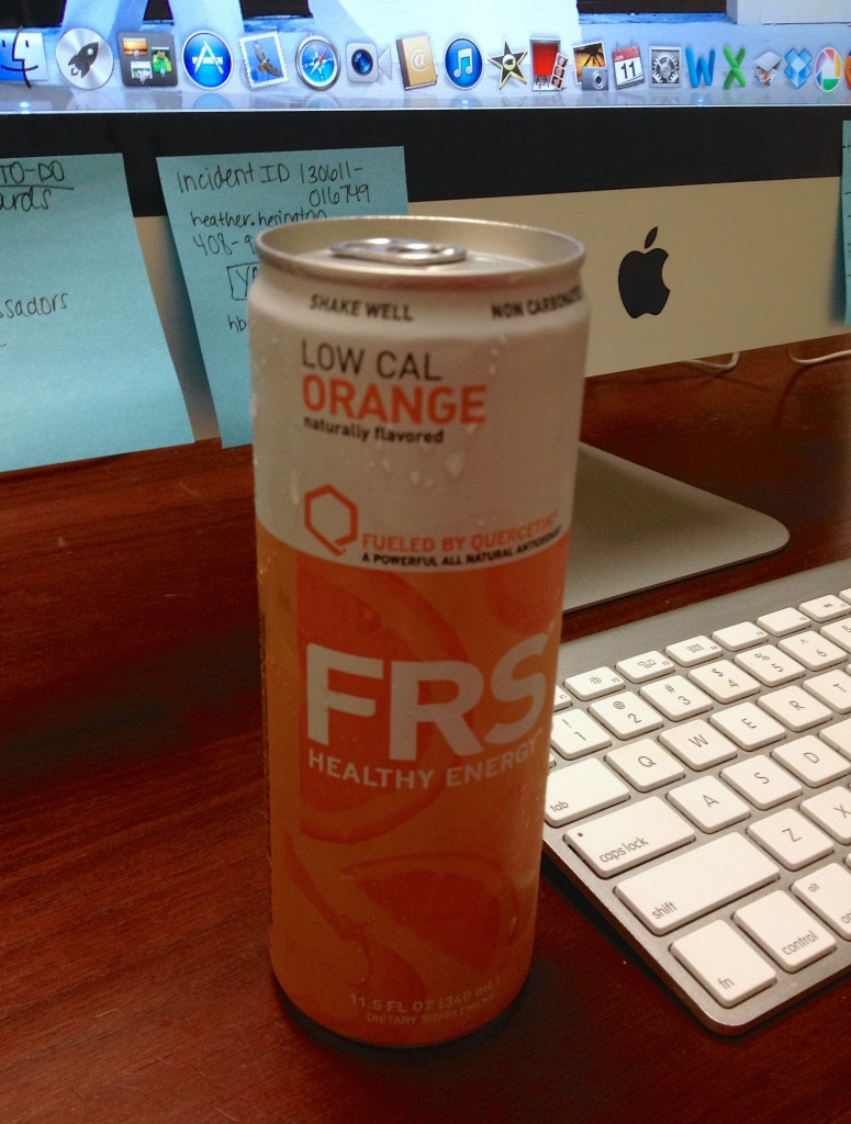 FRS Healthy Energy Drink Orange