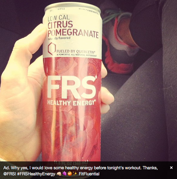 FRS Healthy Energy drink