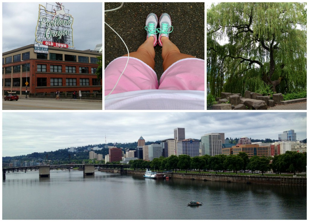 Run Collage at Waterfront Lo