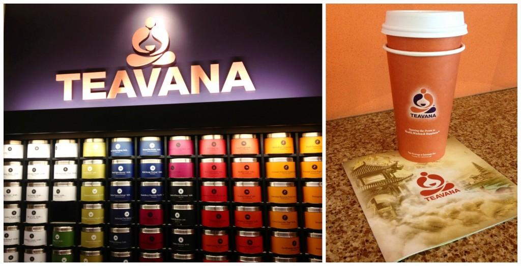 Teavana in the Airport