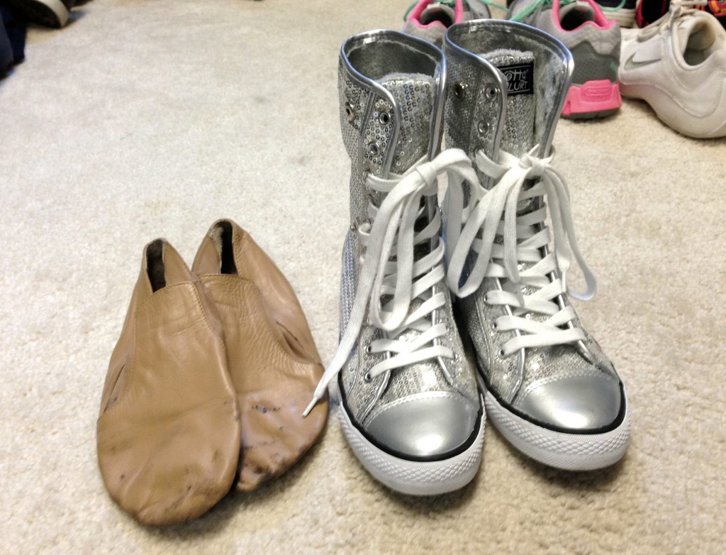 dance shoes for audition