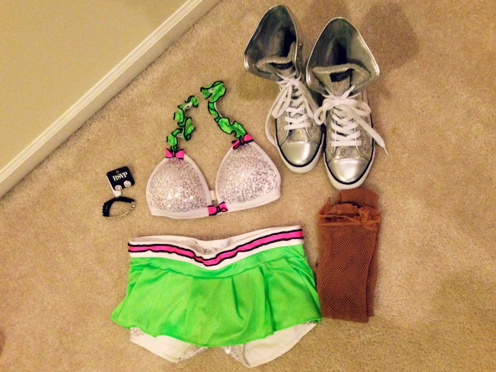 dancer auditions outfit