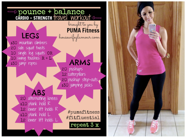 PUMA workout share by iphone