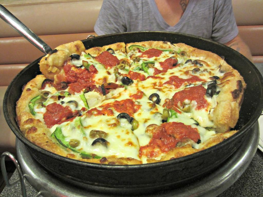 Pasquales Deep Dish Pizza