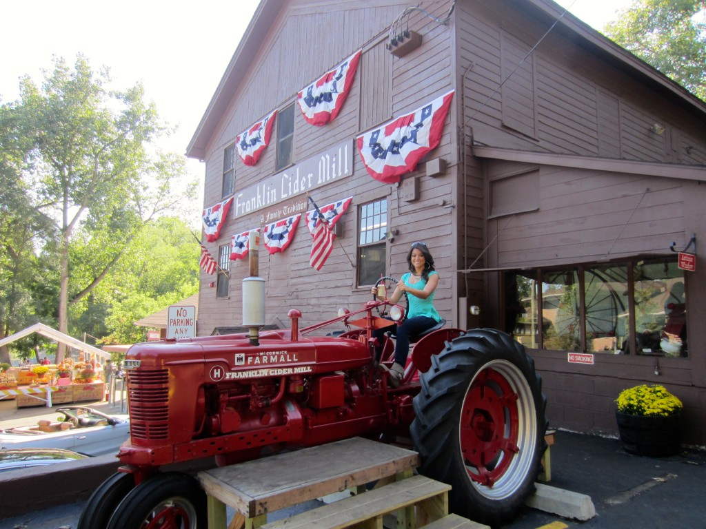 Franklin Cider Mill tractor
