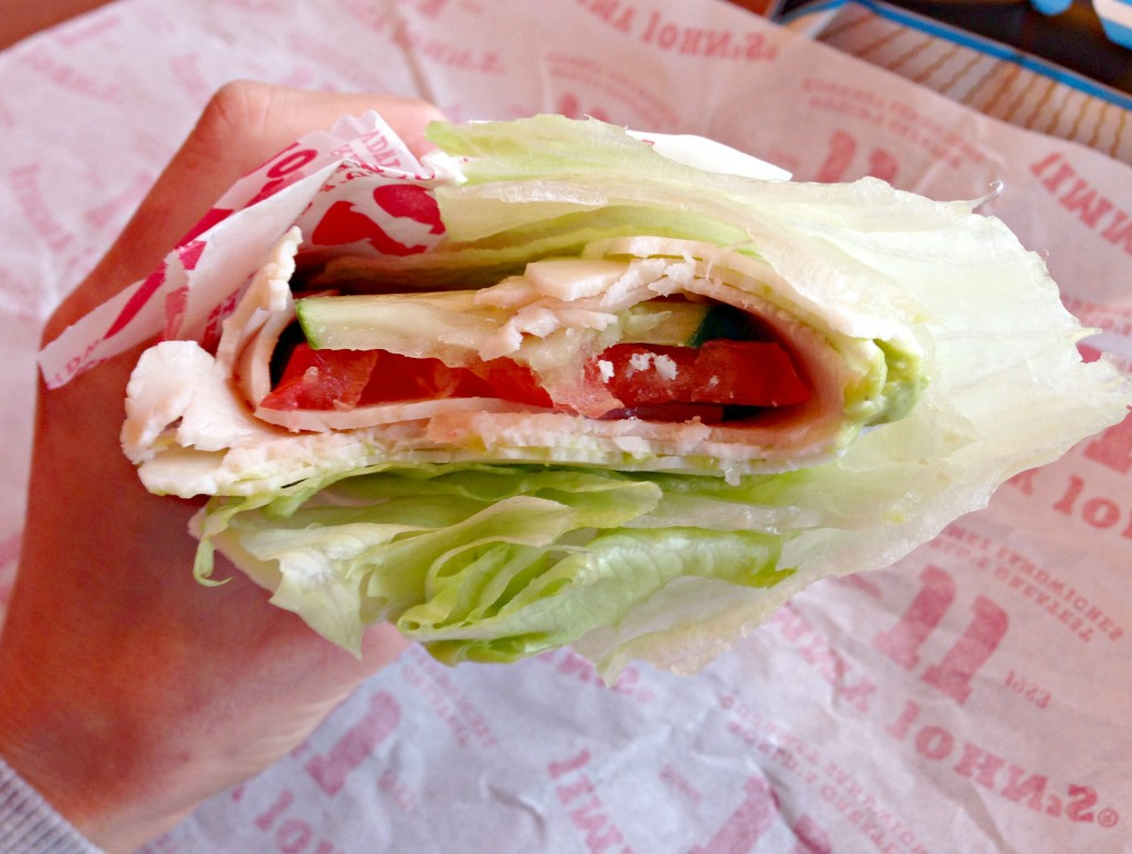 Jimmy Johns Beach Club unwich