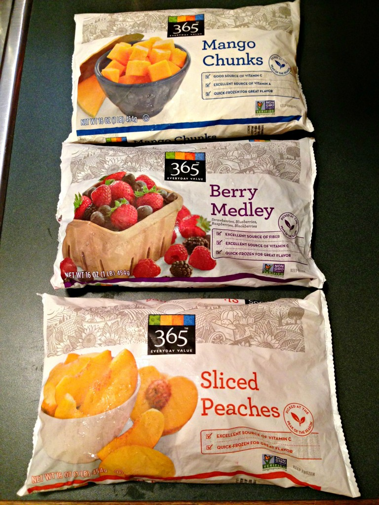 frozen organic fruit