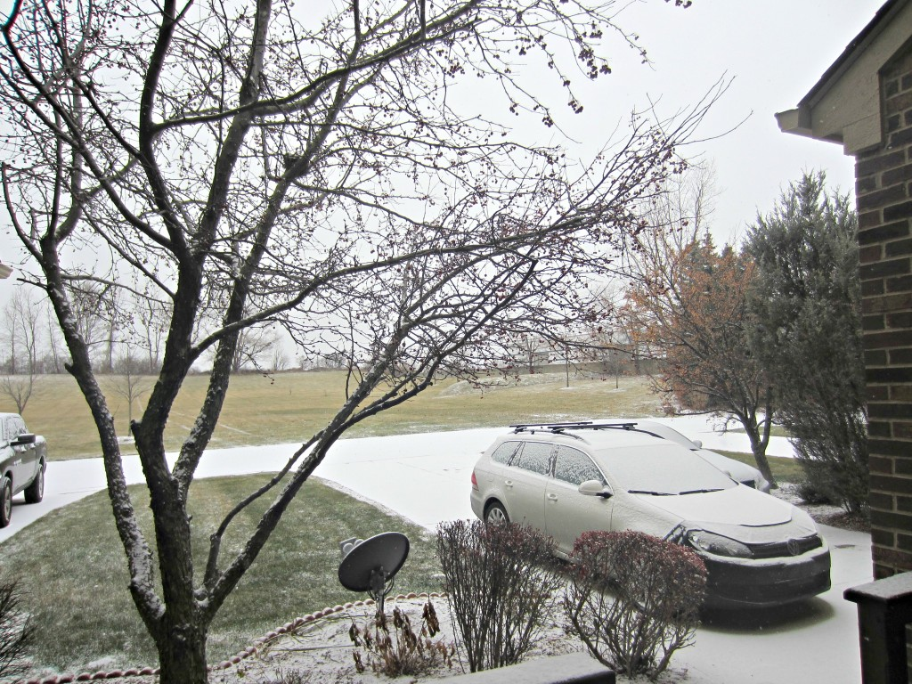 snow on thanksgiving