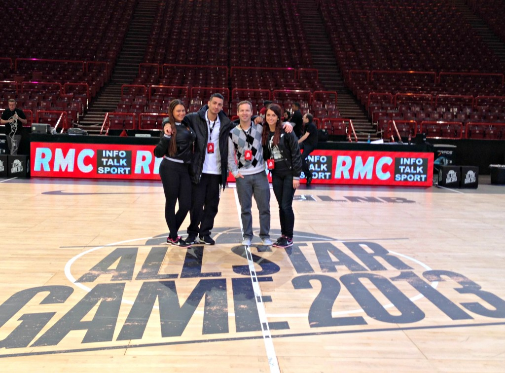 all star game paris 2013 on court