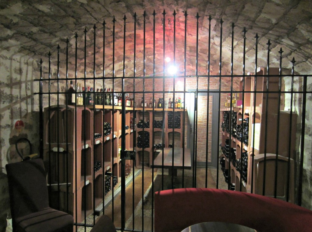 chez brunno bercy village wine cellar