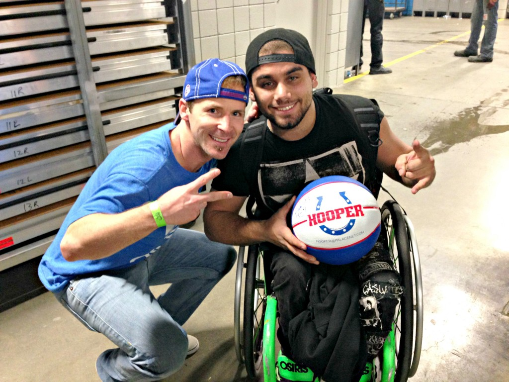 scott meeting wheelz from nitro circus
