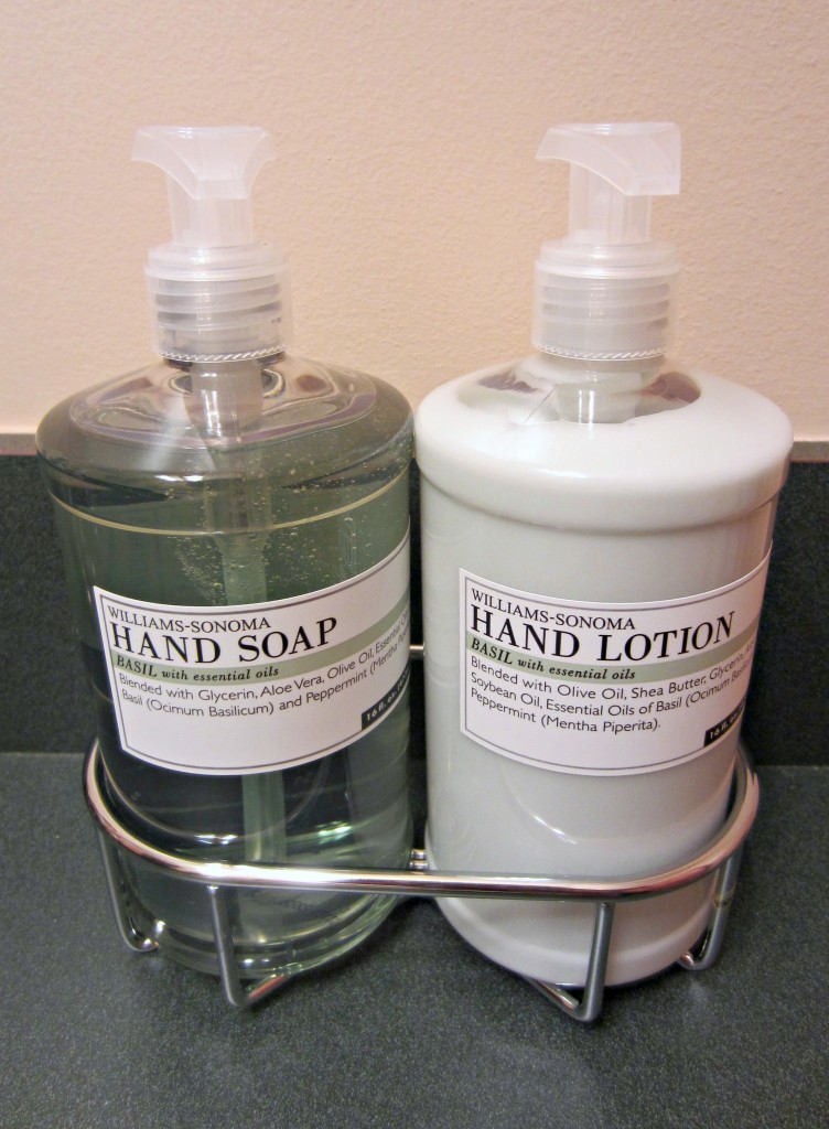williams-sonoma hand soap and lotion set