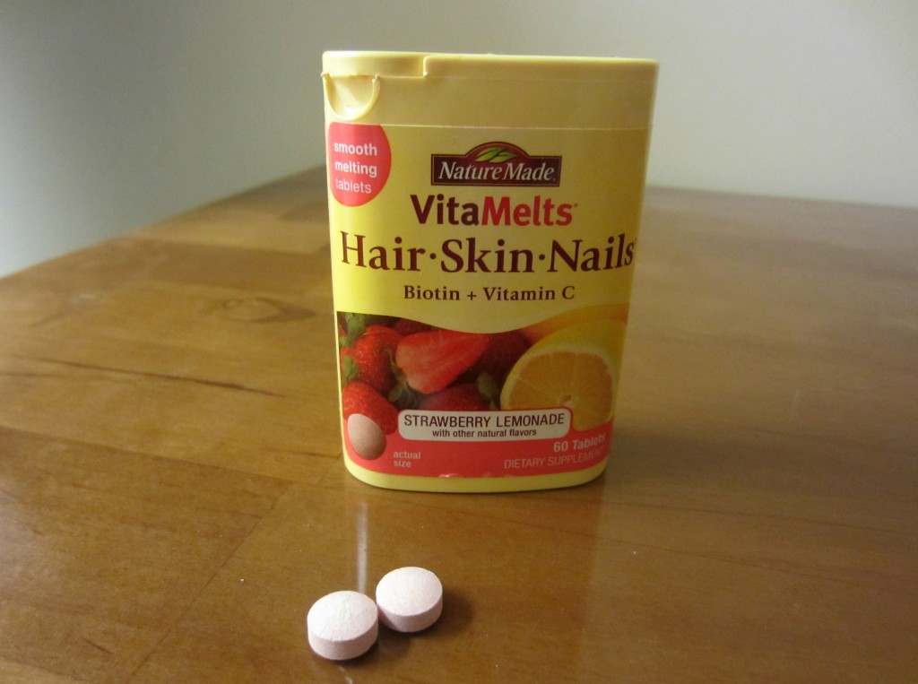 NatureMade VitaMelts Hair Skin Nails Biotin + Vitamin C